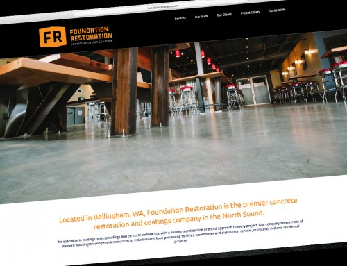 Foundation Restoration Website Design