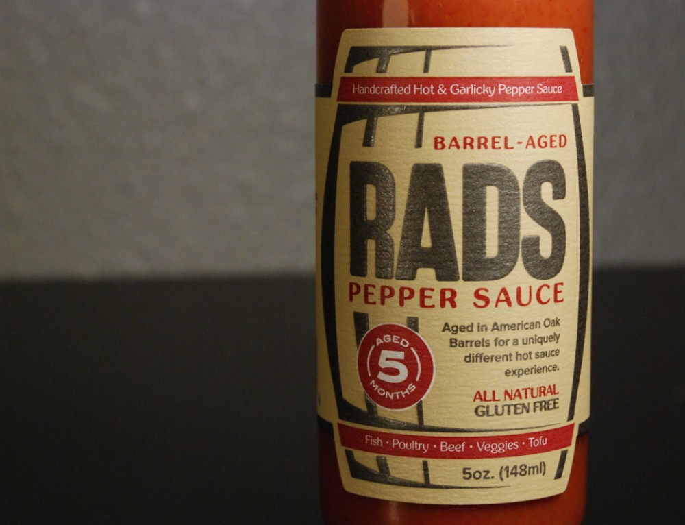 RADs Sauce Packaging Design