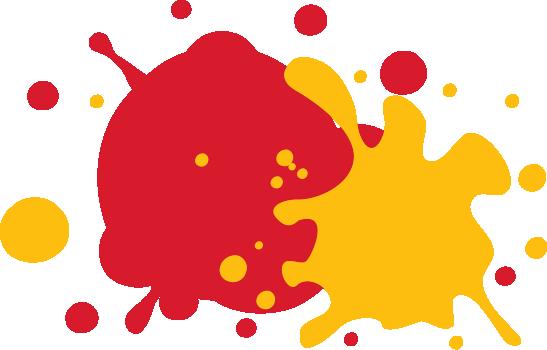 Ketchup + Mustard Mobile Logo