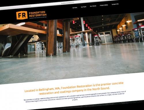 Foundation Restoration Website Design